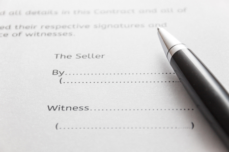 Contract For Work Stock Photos Images Royalty Free Contract For