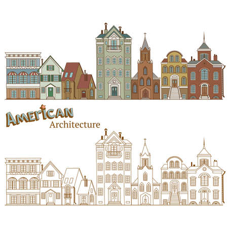 Design of Cityscape in United States and Typical American Architecture