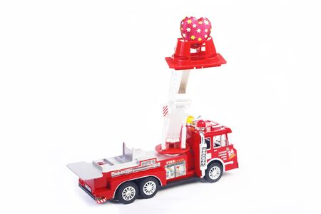 fetishes: Firetruck with heart