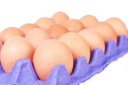whitw: Eggs on a whitw background