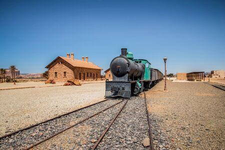 Al-Ula city - Train in Saudi Arabia