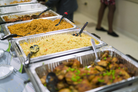 Nigerian Food Buffet
