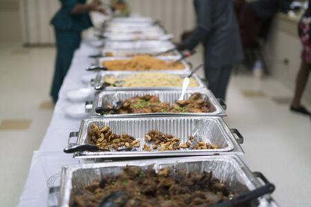 Nigerian Food Buffet