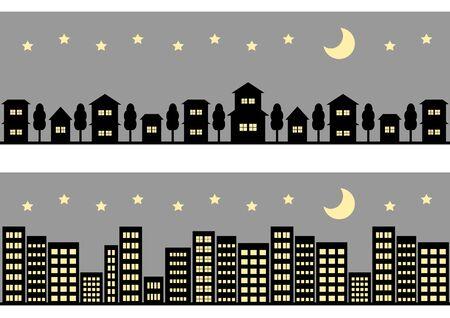 civilisation: Night cityscape