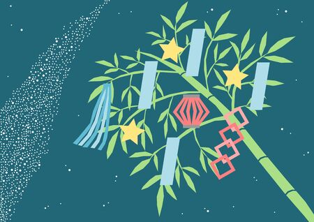 the way: Star Festival and Milky Way Illustration