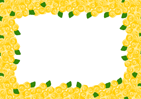 pitiful: Frame of the yellow rose