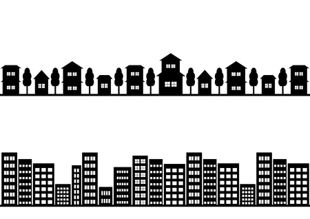 civilisation: Illustration of the cityscape