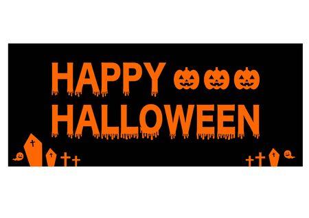 logotype: Happy Halloween logotype Illustration