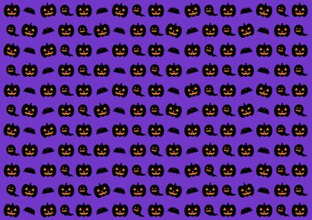Background illustration of the Halloween