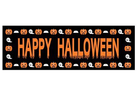 Happy Halloween logotype Çizim