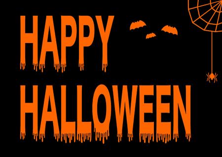Happy Halloween logotype 向量圖像