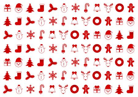 Ilustración de fondo de Navidad Foto de archivo - 48014207