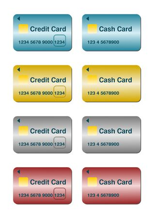 smartcard: credit card and bank card