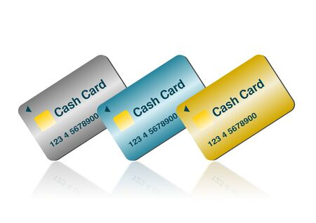 Illustration of the bank card