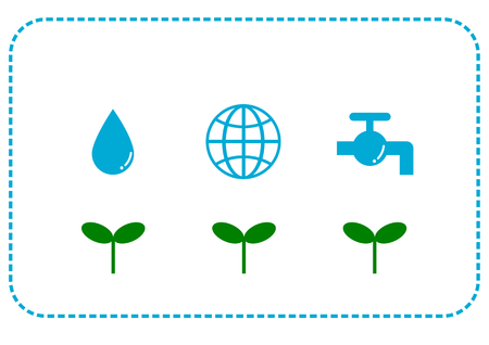 environmental issue: Save water and Ecology