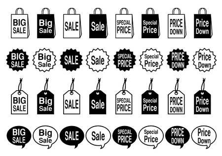Icon of the sale
