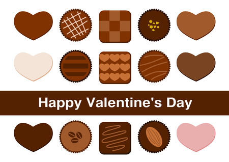 Illustration of Chocolate Valentine's Day
