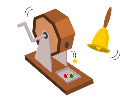 Lotterie-Illustration
