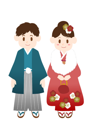 asian friends: Coming-of-age ceremonyNew Year