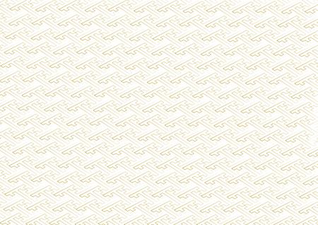 transom: Saaya-shaped pattern gold