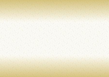 consecutive: Saaya-shaped pattern gold