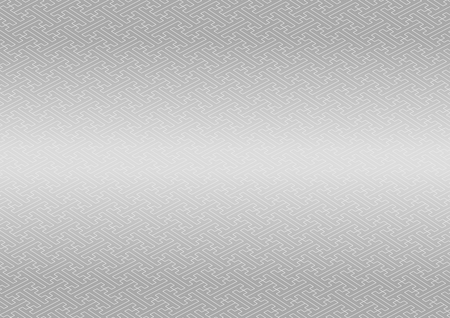 silver: Saaya-shaped pattern silver
