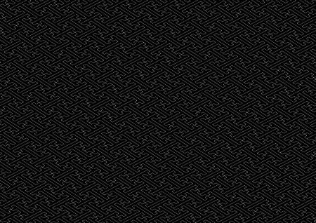 consecutive: Saaya-shaped pattern black