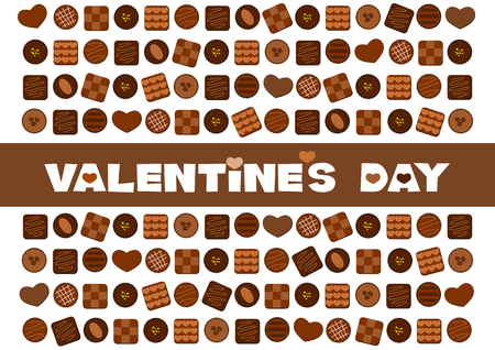 fodder: Illustration of Valentines Chocolate
