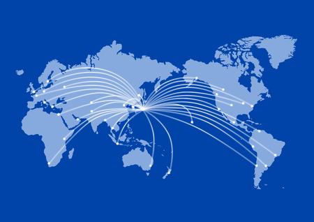 World mapGlobal 向量圖像