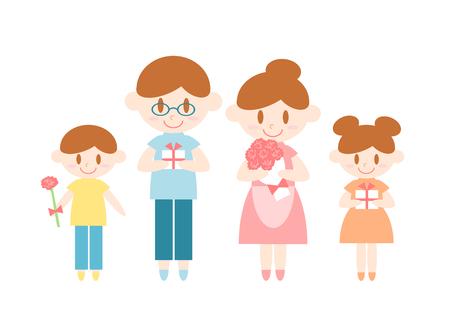 homemaker: Mothers DayFamily Illustration