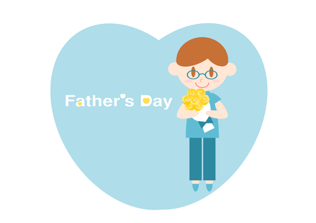 acknowledgment: Fathers DayHeart