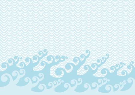 Wave of illustration