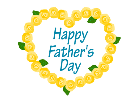 acknowledgment: Illustration of Fathers Day