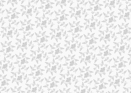 灰色の唐草
