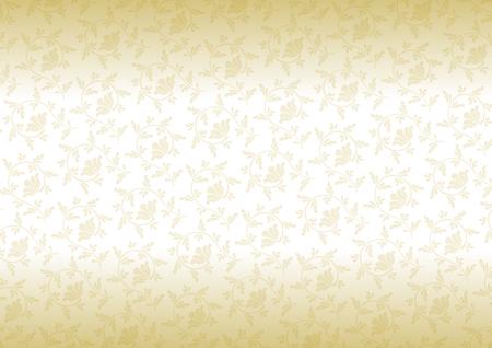 Arabesque design of gold Vector Illustration
