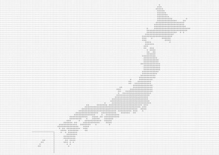shikoku: Gray Map of Japan