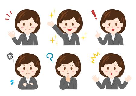 実業家の図  イラスト・ベクター素材