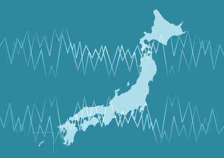 importation: Japanese map Business image