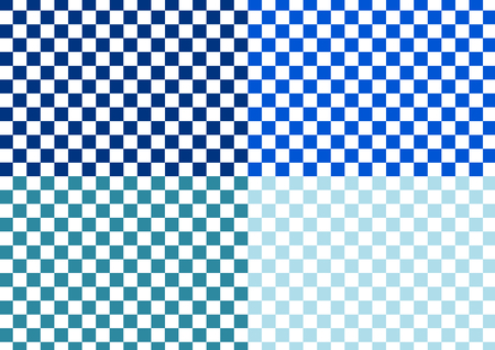 checkered pattern: Checkered pattern of blue