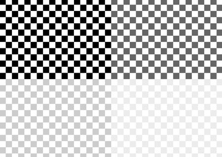 checkered pattern: Checkered pattern of black