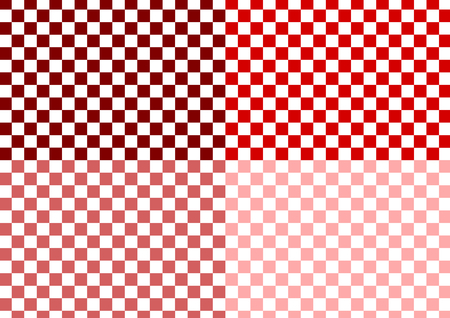 checkered pattern: Checkered pattern of red Illustration