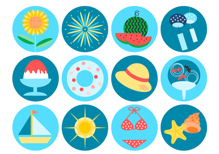 Icon of summer image