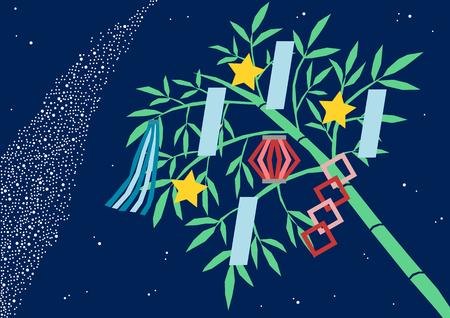 Illustratie van de Star Festival