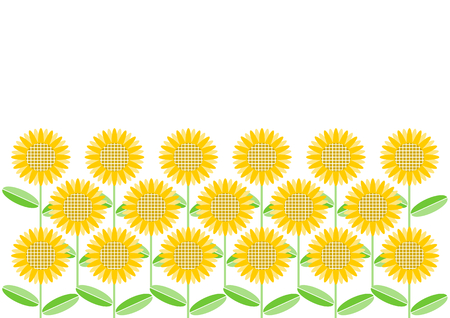 fodder: Sunflower floral design Illustration