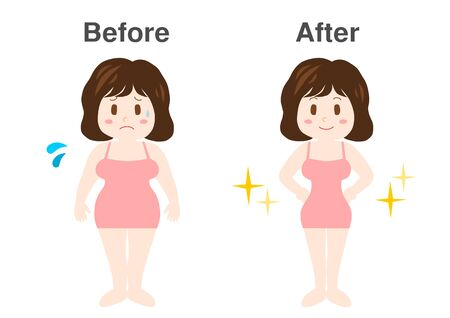 Woman of diet