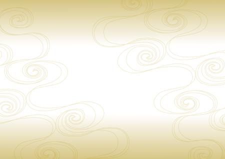 Background illustration of running water gold Иллюстрация