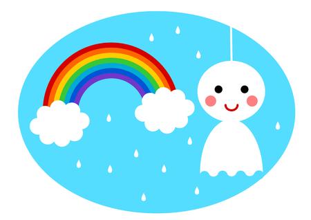 season: Illustration of rainy season