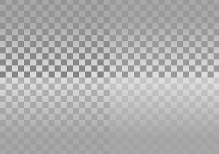 checker: Checkered pattern silver