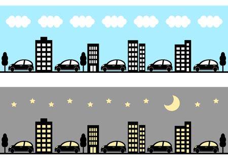 civilisation: Townscape and car
