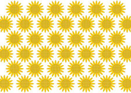 sunflower field: Sunflower floral design Stock Photo